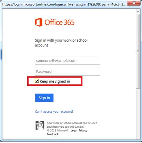 Office 365 Entrar